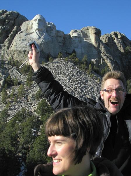 Jose y Noe en Mount Rushmore