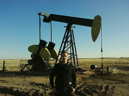 Pozo petroleo Gurley y yo.