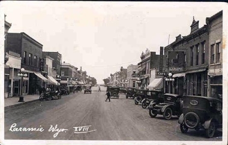 Second Street, approx. 1918. Photo by Henning Svenson.