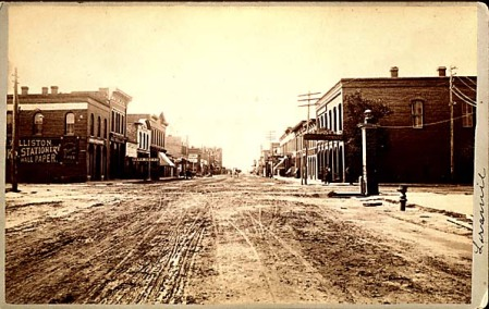 Second Street, Laramie, Wyo. 1890