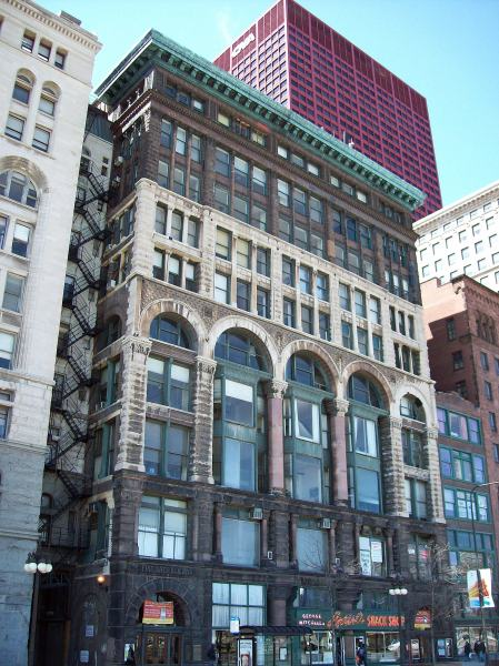 The Fine Arts Building - 1885.
