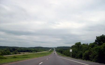 I-70, por Misuri hacia Memphis