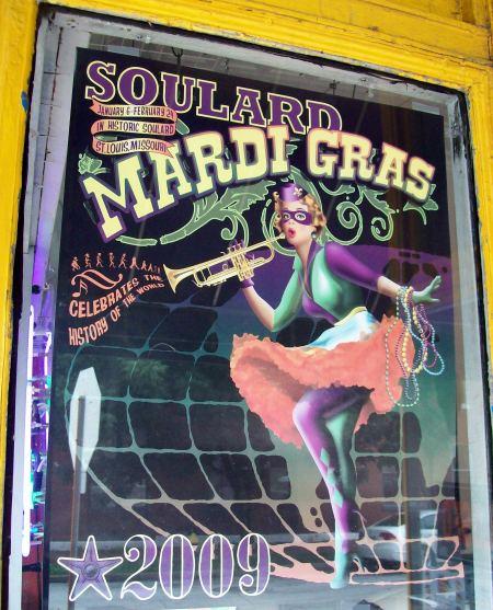 Soulard-Mardi Gras, Saint Louis, MO.