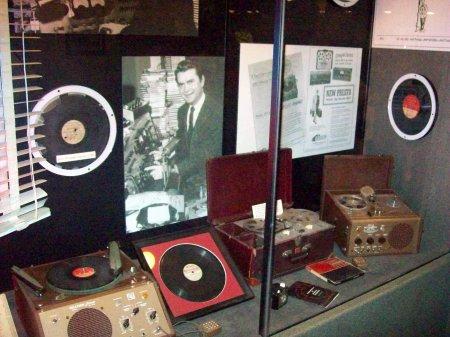 Primeros aparatos de grabación, Sun Studio, Memphis, TN.