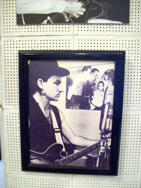 Foto de Bono en Sun Studio