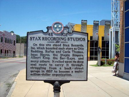 Placa información Stax record