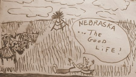 Nebraska... The Good Life, por Linóleo