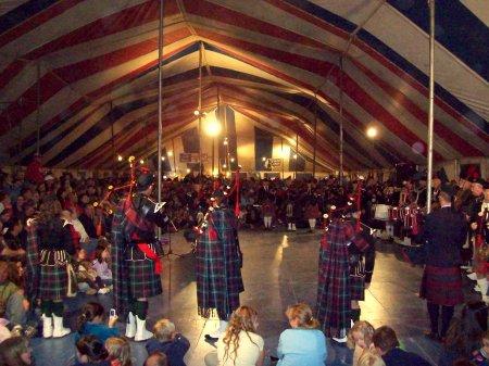 Oktoberfest Sidney 2009 , Pipe Band