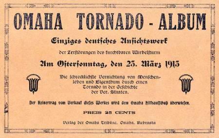 Omaha Tornado- Album