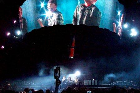Bono tras la cámara, Las Vegas.