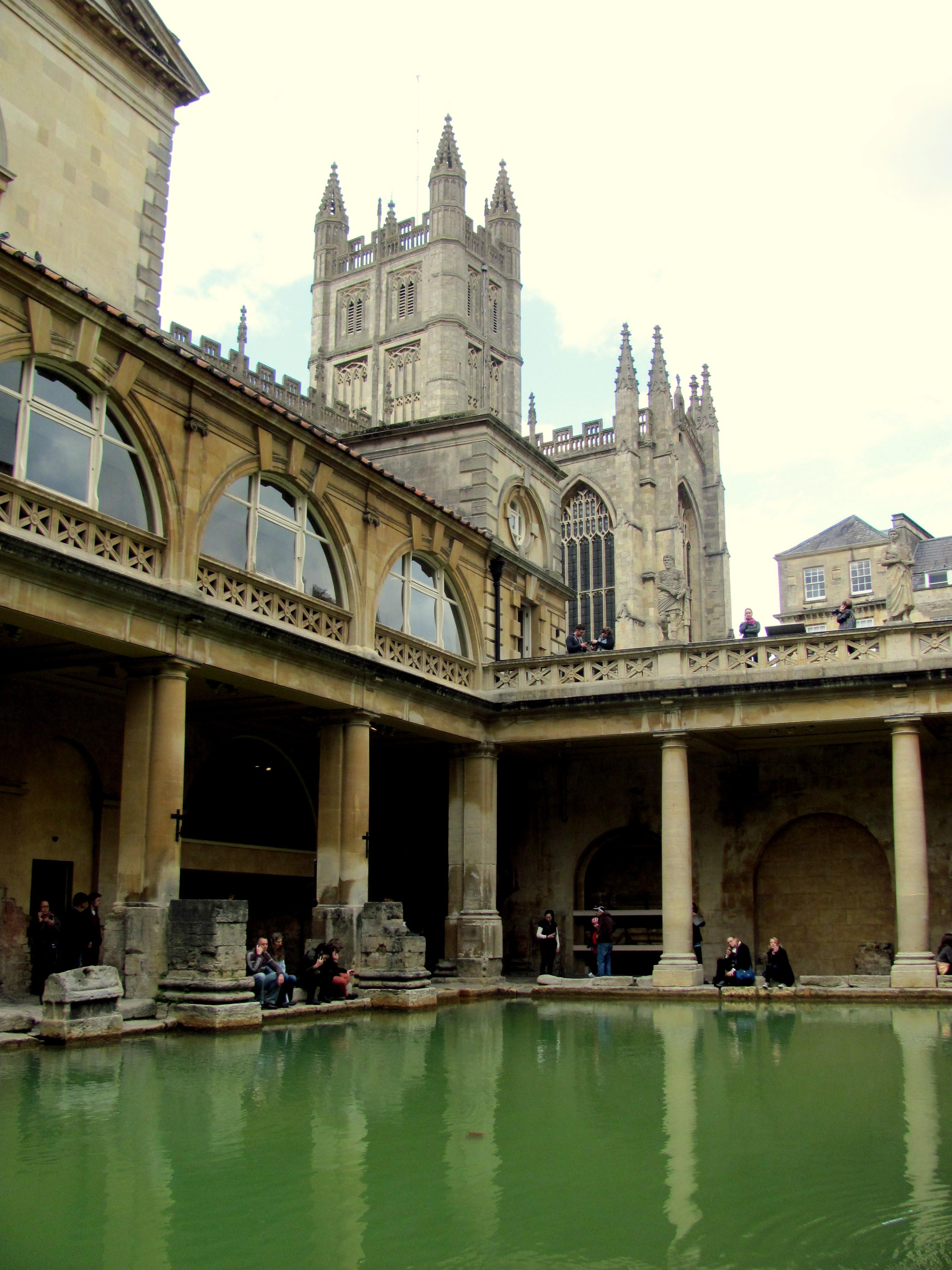Baños Romanos De Bath:Baños romanos